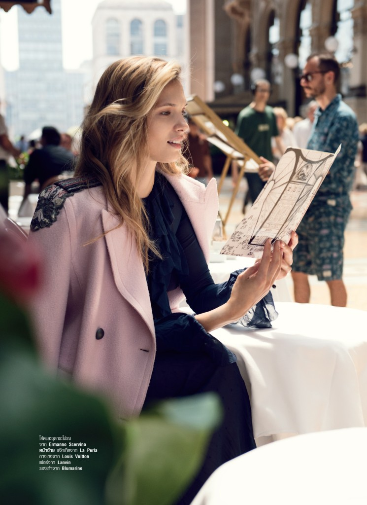 Harper's Bazaar Cover story