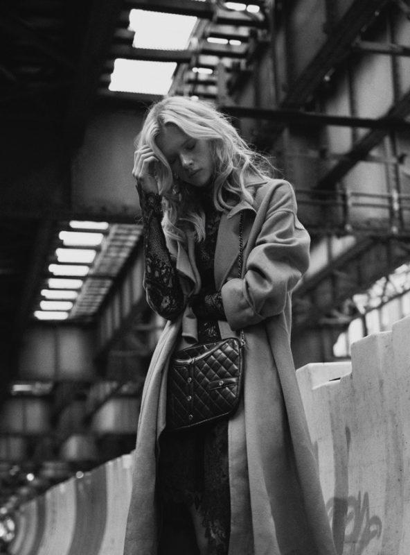Harpers Bazaar cover story Editorial fashion Francesco Vincenti fotografo milano