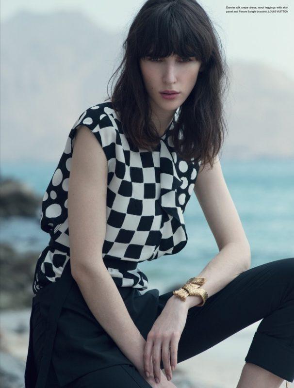 Mojeh cover story editorial fashion Francesco Vincenti fotografo milan