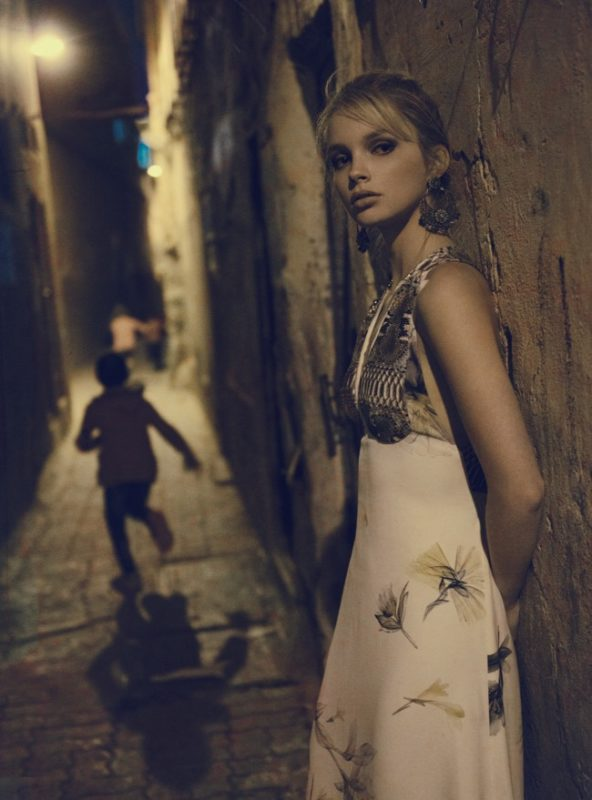 Vogue Italia editorial fashion Francesco Vincenti fotografo milan