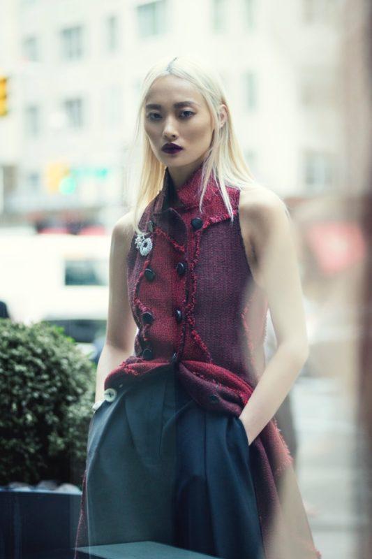 ELLE cover story Editorial fashion Francesco Vincenti fotografo milano