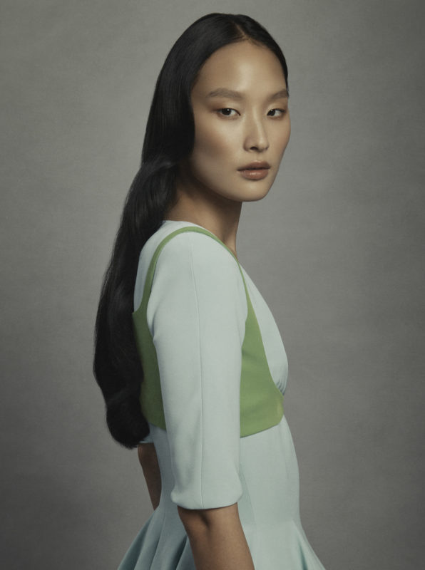 Harper's Bazaar fashion editorial